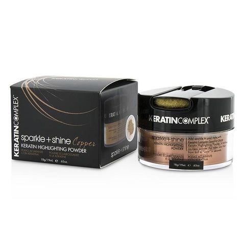 Keratin Complex Fashion Therapy Sparkle + Shine Keratin Highlighting Powder - # Copper 19ml/0.63oz-Haircare-Cherry Birch