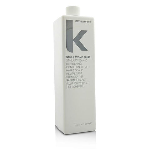 Kevin Murphy Stimulate-Me.Rinse (Stimulating and Refreshing Conditioner - For Hair & Scalp) 1000ml/33.6oz-Haircare-Cherry Birch