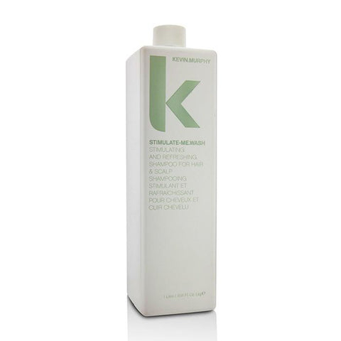 Kevin Murphy Stimulate-Me.Wash (Stimulating and Refreshing Shampoo - For Hair & Scalp) 1000ml/33.6oz-Haircare-Cherry Birch