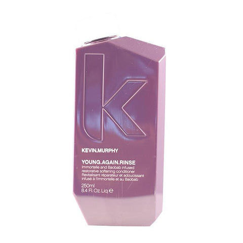 Kevin Murphy Young.Again.Rinse (Immortelle and Baobab Infused Restorative Softening Conditioner - To Dry, Brittle or Damaged Hair) 250ml/8.4oz-Haircare-Cherry Birch