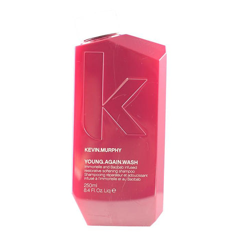 Kevin Murphy Young.Again.Wash (Immortelle and Baobab Infused Restorative Softening Shampoo - To Dry Brittle Hair) 250ml/8.4oz-Haircare-Cherry Birch