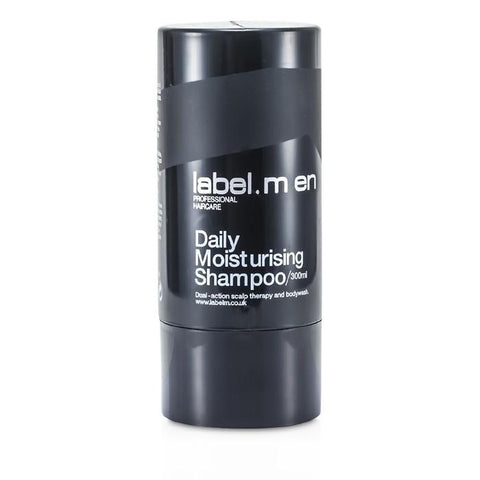 Label.M Men's Daily Moisturising Shampoo (Dual-Action Scalp Therapy and Bodywash) 300ml/10.1oz-Haircare-Cherry Birch