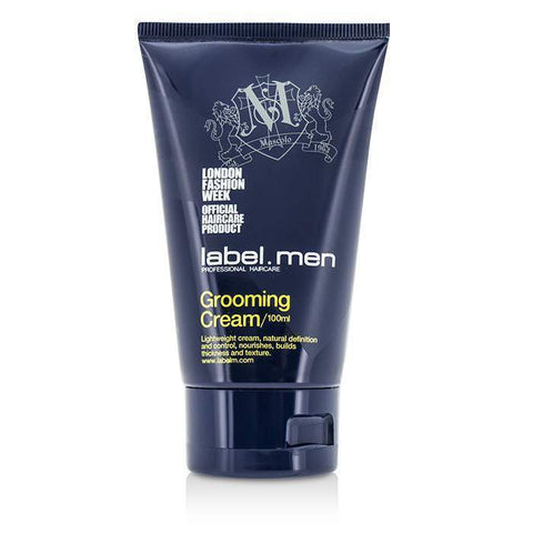 Label.M Men's Grooming Cream (Lightweight Cream, Natural Definition and Control, Nourishes, Builds Thickness and Texture) 100ml/3.4oz-Haircare-Cherry Birch