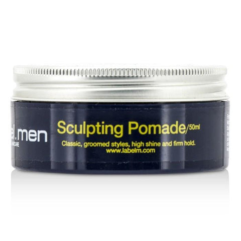 Label.M Men's Sculpting Pomade (Classic, Groomed Styles, High Shine and Firm Hold) 50ml/1.7oz-Haircare-Cherry Birch