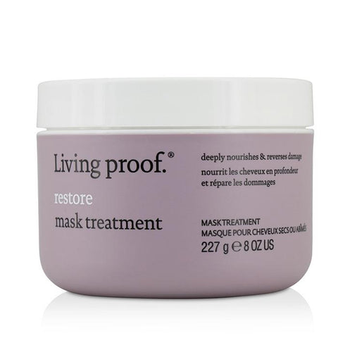 Living Proof Restore Mask Treatment (Deeply Nourishes & Reverses Damage) 227g/8oz-Haircare-Cherry Birch