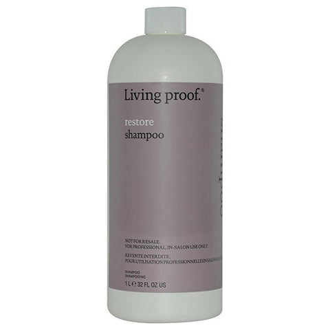 Living Proof Restore Shampoo (For Dry or Damaged Hair) (Salon Product) 1000ml/32oz-Haircare-Cherry Birch