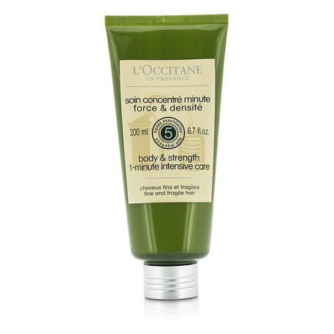 L'Occitane Aromachologie Body & Strength 1-Minute Intensive Care (Fine and Fragile Hair) 200ml/6.7oz-Haircare-Cherry Birch