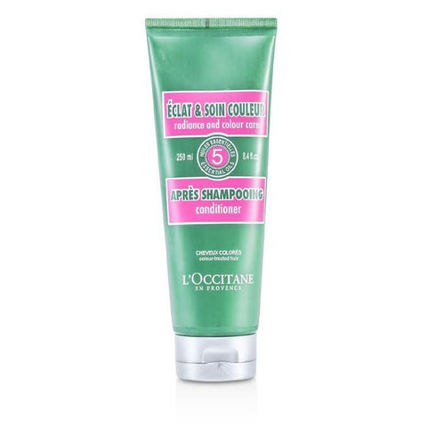 L'Occitane Aromachologie Radiance and Colour Care Conditioner 250ml/8.4oz-Haircare-Cherry Birch