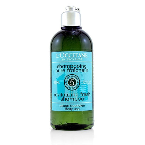 L'Occitane Aromachologie Revitalising Fresh Shampoo (Daily Use) 300ml/10.1oz-Haircare-Cherry Birch