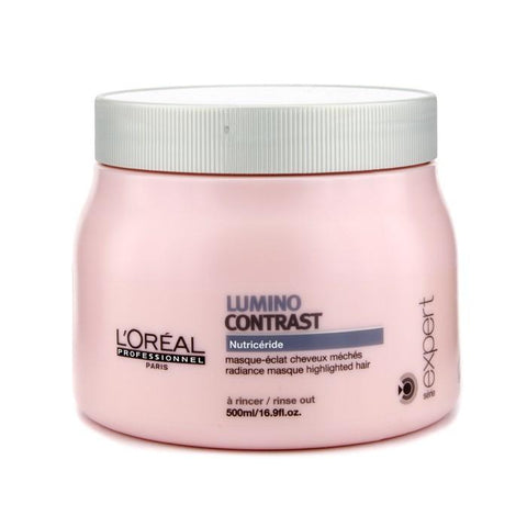 L'Oreal Professionnel Expert Serie - Lumino Contrast Masque 500ml/16.9oz-Haircare-Cherry Birch