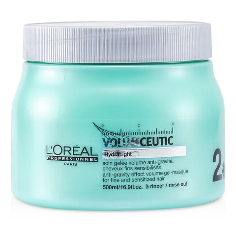 L'Oreal Professionnel Expert Serie - Volumceutic Anti-Gravity Effect Volume Gel-Masque (For Fine and Sensitized Hair) 500ml/16.9oz-Haircare-Cherry Birch