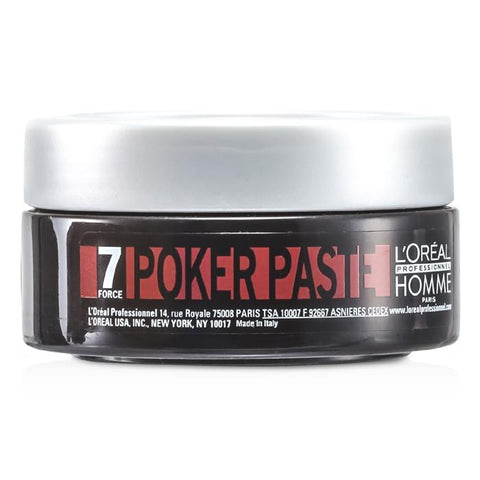 L'Oreal Professionnel Homme Poker Paste 75ml/2.5oz-Haircare-Cherry Birch