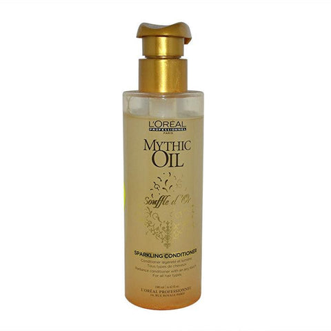 L'Oreal Professionnel Mythic Oil Souffle d'Or Sparkling Conditioner (For All Hair Types) 190ml/6.42oz-Haircare-Cherry Birch