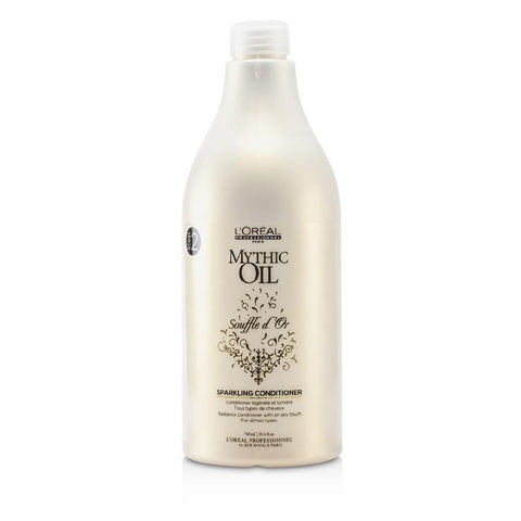 L'Oreal Professionnel Mythic Oil Souffle d'Or Sparkling Conditioner (For All Hair Types) 750ml/25.4oz-Haircare-Cherry Birch