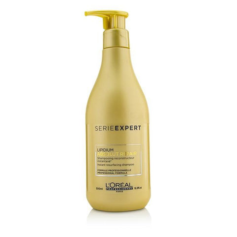 L'Oreal Professionnel Serie Expert - Absolut Repair Lipidium Instant Resurfacing Shampoo 500ml/16.9oz-Haircare-Cherry Birch