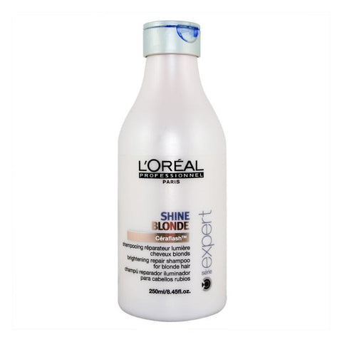 L'oreal Serie Expert Shine Blonde Shampoo 250ml-Haircare-Cherry Birch