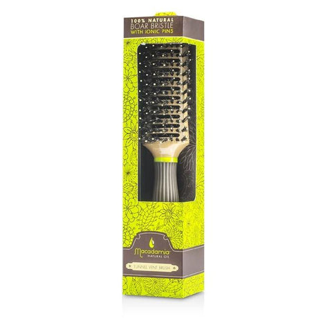 Macadamia Natural Oil Boar/Nylon Tunnel Vent Brush 1pc-Haircare-Cherry Birch