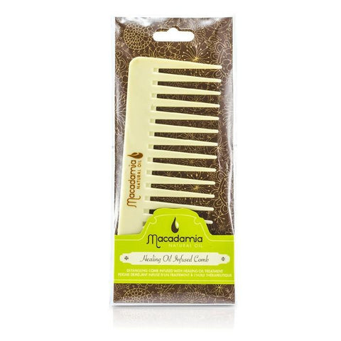 Macadamia Natural Oil Infused Comb 1pc-Haircare-Cherry Birch