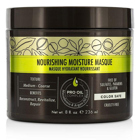 Macadamia Natural Oil Professional Nourishing Moisture Masque 236ml/8oz-Haircare-Cherry Birch