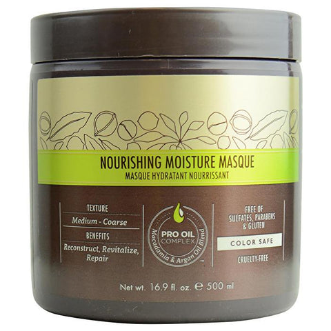 Macadamia Natural Oil Professional Nourishing Moisture Masque 500ml/16.9oz-Haircare-Cherry Birch