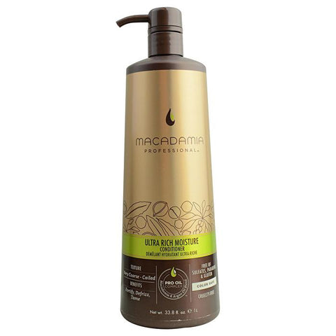 Macadamia Natural Oil Professional Ultra Rich Moisture Conditioner 1000ml/33.8oz-Haircare-Cherry Birch