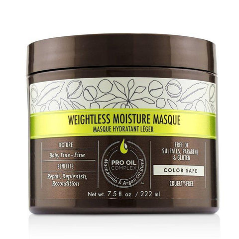 Macadamia Natural Oil Professional Weightless Moisture Masque 222ml/7.5oz-Haircare-Cherry Birch