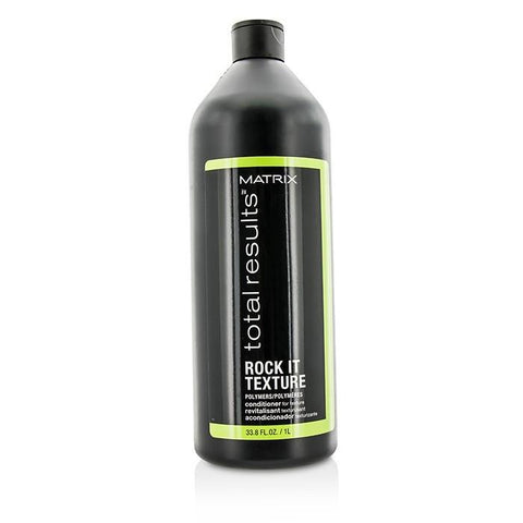 Matrix Total Results Rock It Texture Polymers Conditioner (For Texture) 1000ml/33.8oz-Haircare-Cherry Birch