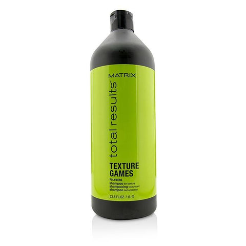 Matrix Total Results Texture Games Polymers Shampoo (For Texture) 1000ml/33.8oz-Haircare-Cherry Birch