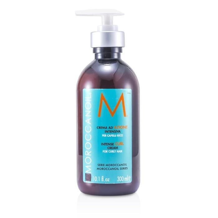 Moroccanoil Intense Curl Cream (For Wavy to Curly Hair) 300ml/10.2oz-Haircare-Cherry Birch