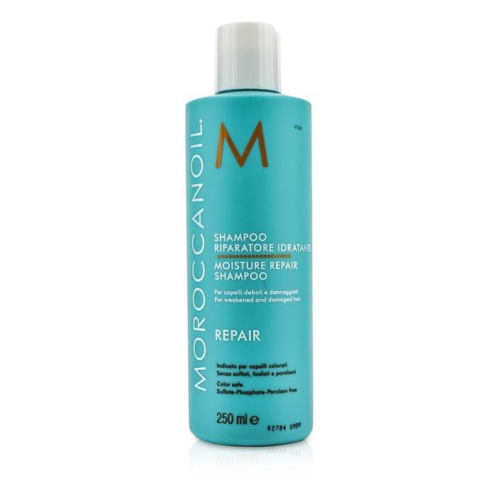 Moroccanoil Moisture Repair Shampoo (For Weakened and Damaged Hair) 250ml/8.5oz-Haircare-Cherry Birch