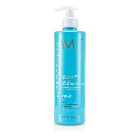 Moroccanoil Moisture Repair Shampoo (For Weakened and Damaged Hair) 500ml/16.9oz-Haircare-Cherry Birch