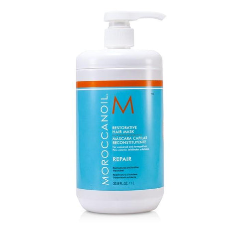 Moroccanoil Restorative Hair Mask - For Weakened and Damaged Hair (Salon Product) 1000ml/33.8oz-Haircare-Cherry Birch