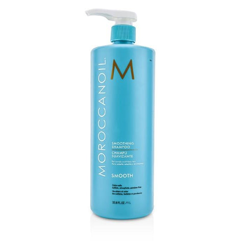 Moroccanoil Smoothing Shampoo (For Unruly and Frizzy Hair) 1000ml/33.8oz-Haircare-Cherry Birch
