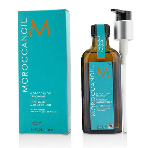 Moroccanoil Treatment - Original (For All Hair Types) 100ml/3.4oz-Haircare-Cherry Birch