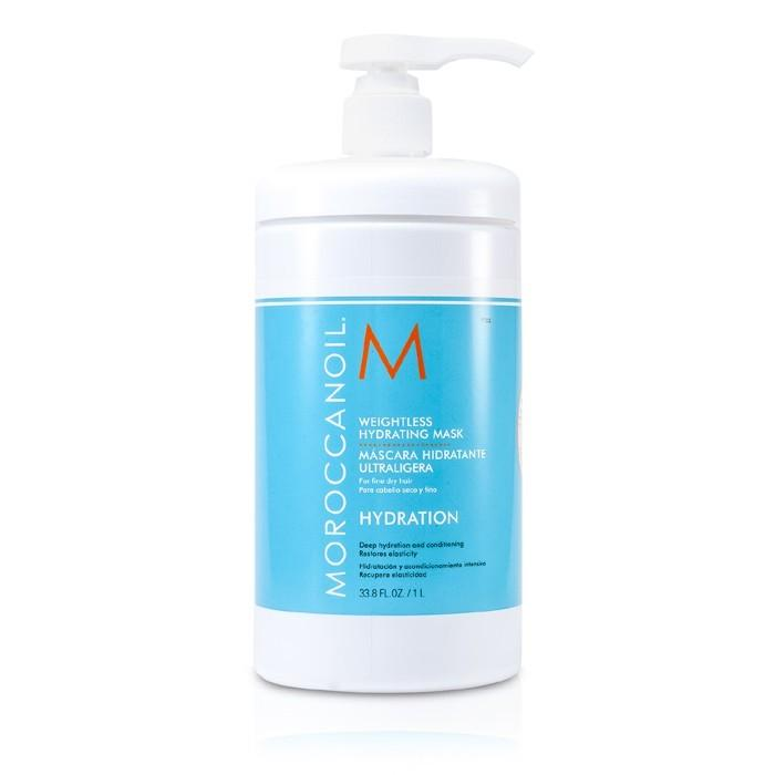 Moroccanoil Weightless Hydrating Mask (For Fine Dry Hair) 1000ml/33.8oz-Haircare-Cherry Birch