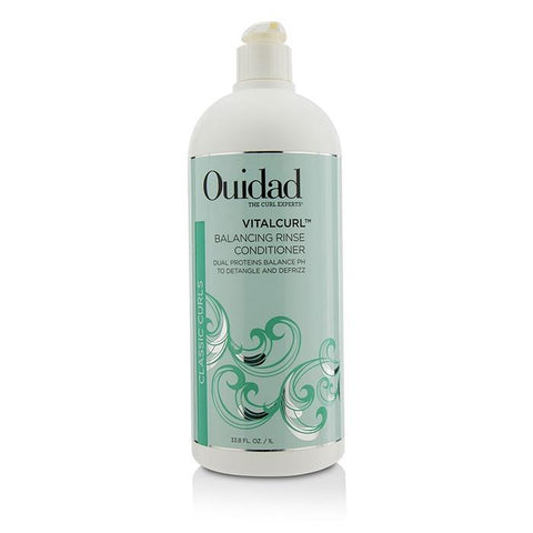 Ouidad VitalCurl Balancing Rinse Conditioner (Classic Curls) 1000ml/33.8oz-Haircare-Cherry Birch