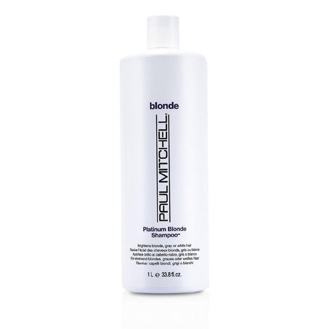 Paul Mitchell Blonde Platinum Blonde Shampoo (Brighten Blonde, Gray or White Hair) 1000ml/33.8oz-Haircare-Cherry Birch
