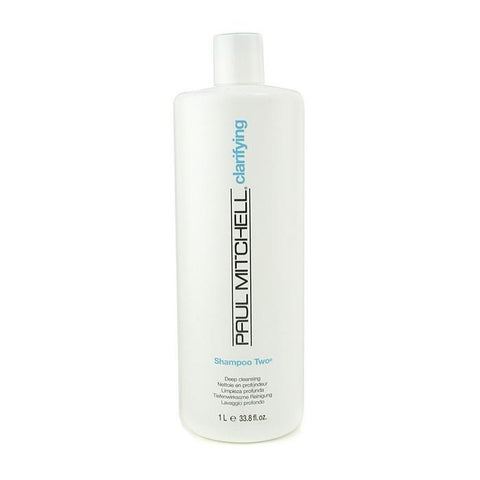 Paul Mitchell Clarifying Shampoo Two (Deep Cleaning) 1000ml/33.8oz-Haircare-Cherry Birch