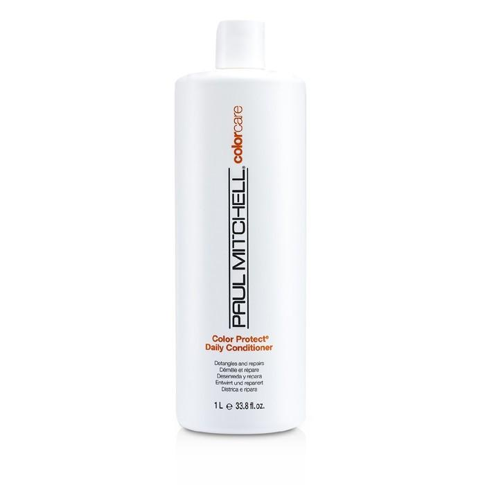 Paul Mitchell Color Care Color Protect Daily Conditioner (Detangles and Repairs) 1000ml/33.8oz-Haircare-Cherry Birch