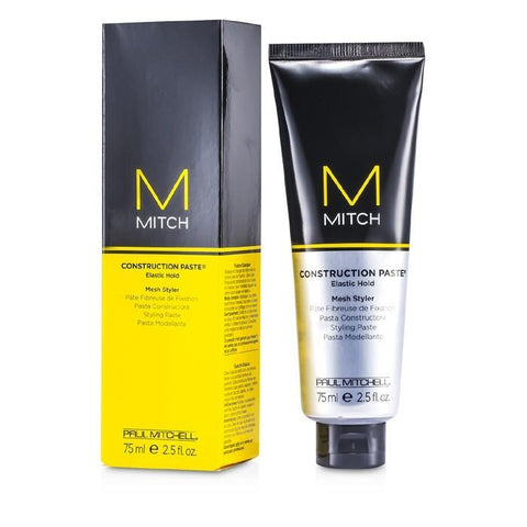 Paul Mitchell Mitch Construction Paste Elastic Hold Mesh Styler 75ml/2.5oz-Haircare-Cherry Birch