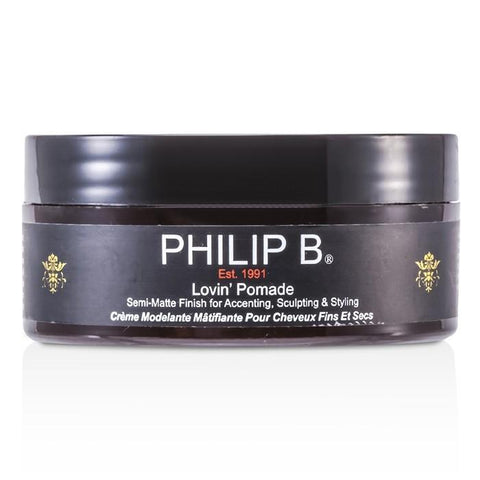 Philip B Lovin' Pomade (For Fine to Medium Hair Types) 60g/2oz-Haircare-Cherry Birch