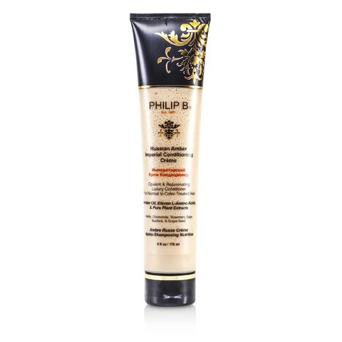 Philip B Russian Amber Imperial Conditioning Creme (For Normal to Color-Treated Hair) 178ml/6oz-Haircare-Cherry Birch