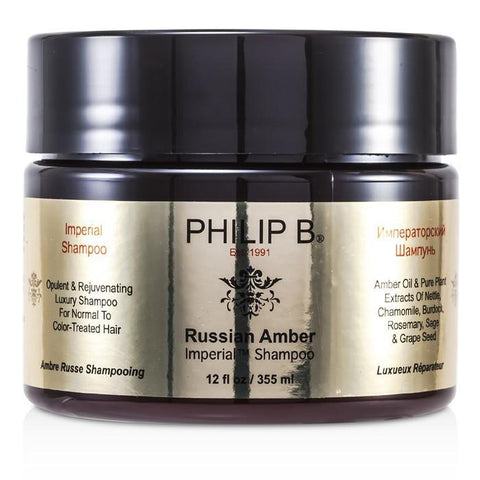 Philip B Russian Amber Imperial Shampoo (For Normal to Color-Treated Hair) 355ml/12oz-Haircare-Cherry Birch