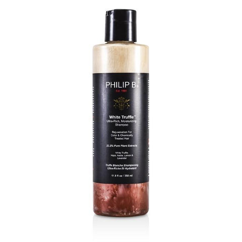 Philip B White Truffle Ultra-Rich Moisturizing Shampoo (For Color & Chemically Treated Hair) 350ml/11.8oz-Haircare-Cherry Birch