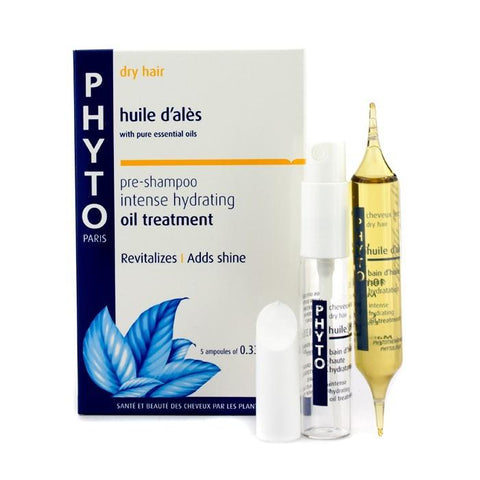 Phyto Huile D 'Ales Intense Hydrating Oil Treatment (Pre-Shampoo - Dry Hair) 5x10ml/0.33oz-Haircare-Cherry Birch