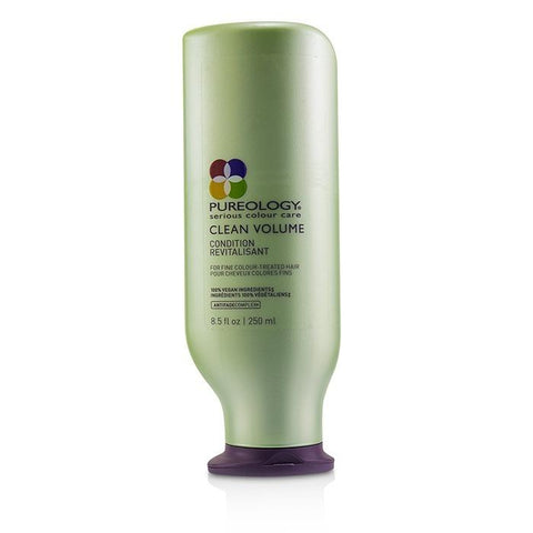 Pureology Clean Volume Conditioner (For Fine Colour-Treated Hair) 250ml/8.5oz-Haircare-Cherry Birch