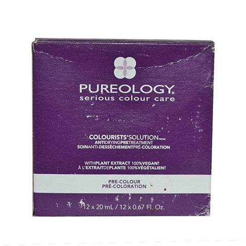 Pureology Colourists' Solution Anti Drying Pre Treatment 12x20ml/0.67oz-Haircare-Cherry Birch