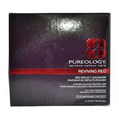 Pureology Reviving Red Copper Reflect Enhancer 4x 0.34 Oz-Haircare-Cherry Birch
