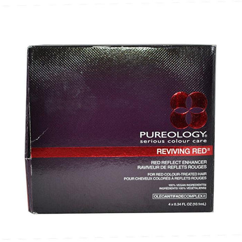 Pureology Reviving Red Reflect Enhancer 4 Count-Haircare-Cherry Birch