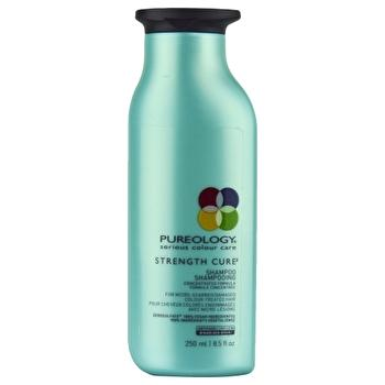 Pureology Strength Cure Shampoo (For Micro-Scarred/ Damaged Colour-Treated Hair) 250ml/8.5oz-Haircare-Cherry Birch